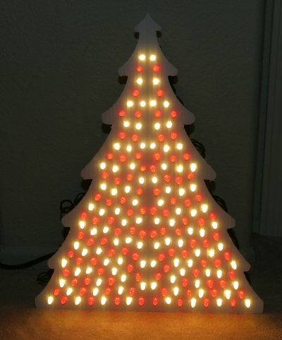 Completed Coro Tree with Lights